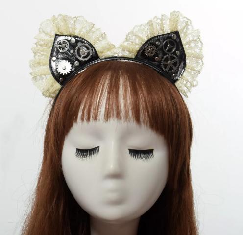 Steampunk cat ears