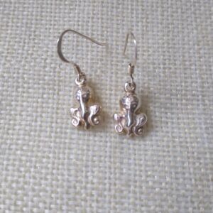 sterling silver Octopus earings