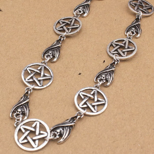 pagan gothic necklace