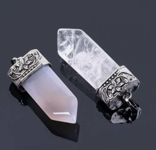 semi-precious pendants