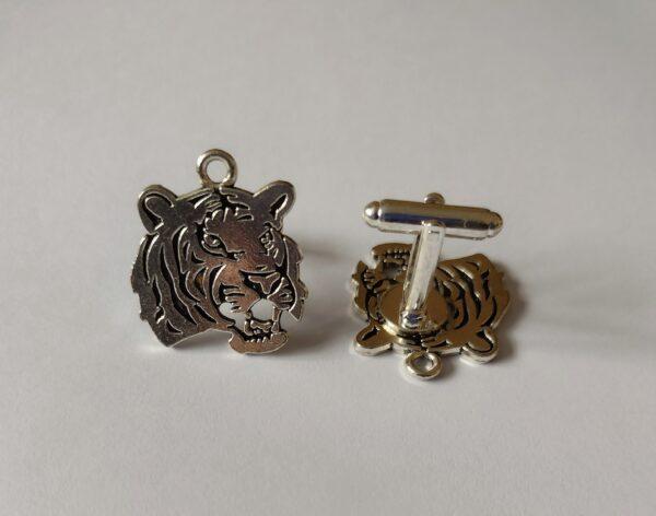 tiger cufflinks
