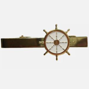 ships wheel tie pin