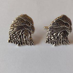 silver eagle cufflinks