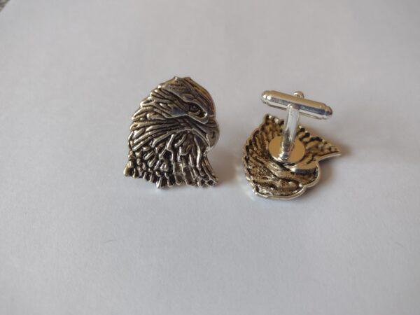 silver america eagle cufflinks